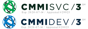 CMMI/Dev and CMMI-SRV Certified